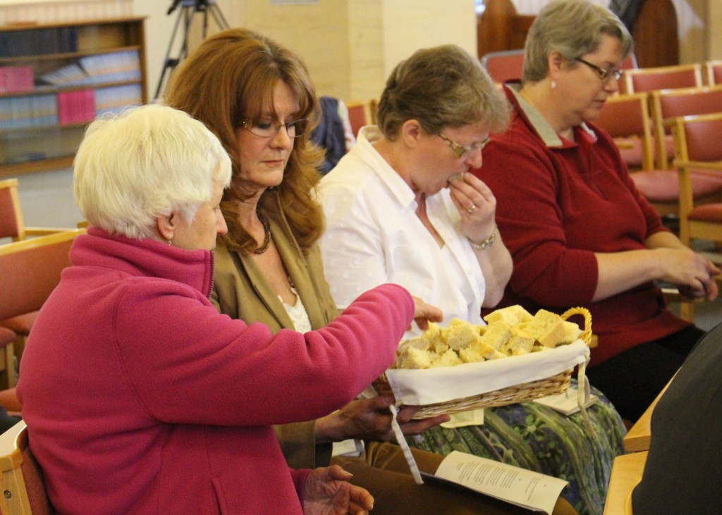 The witness started with an Agape service in Witney Methodist Church.